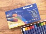 【買付け品】【ネコポスOK】 ドイツ Pelikan/ペリカン クレヨン12色