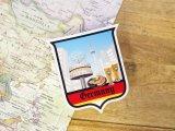 【ネコポスOK】 旅屋オリジナル Country Sticker Germany/ドイツ