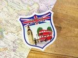 【ネコポスOK】 旅屋オリジナル Country Sticker United Kingdom/イギリス
