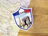 【ネコポスOK】 旅屋オリジナル Country Sticker France/フランス