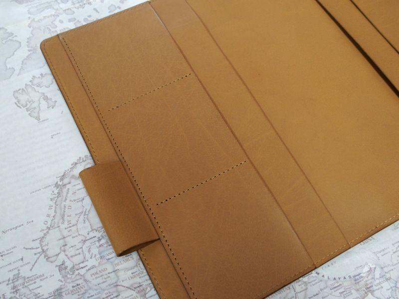 画像4: 【受注生産品】【ネコポスNG】 ジブン手帳専用カバー 旅屋オリジナル type T