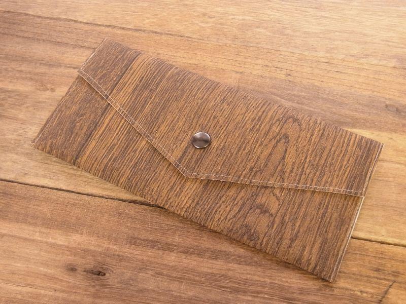 画像1: 【ネコポスOK】 Quaint Design/クイントデザイン GRAFICA DECORA ペンケース wood board