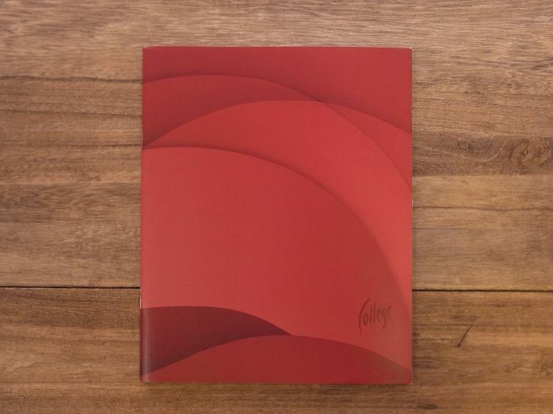 画像1: 【買付け品】【ネコポスOK】 エストニア College ノート レッド