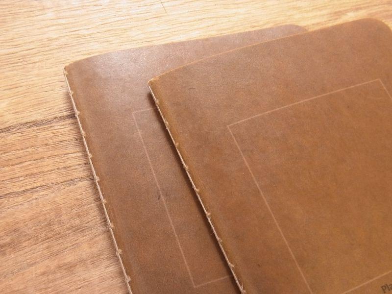 画像2: 【ネコポスOK】 RO-BIKI NOTE/蝋引きノート 無地