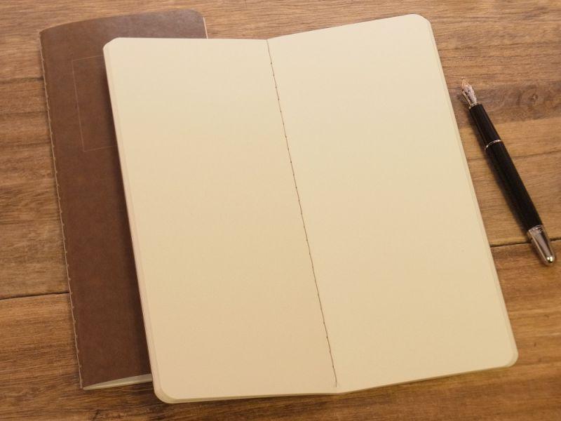 画像3: 【ネコポスOK】 RO-BIKI NOTE/蝋引きノート 無地