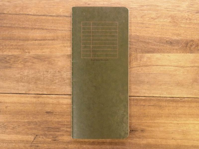 画像1: 【ネコポスOK】 RO-BIKI NOTE/蝋引きノート 6mm罫線