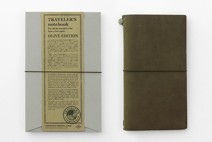 画像2: 【ネコポスOK】 TRAVELER'S notebook/トラベラーズノート オリーブエディション