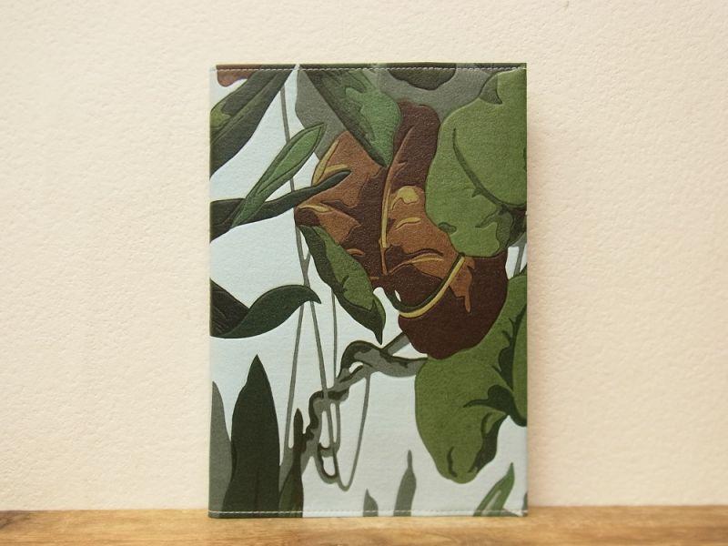 画像1: 【ネコポスOK】 Quaint Design/クイントデザイン GRAFICA DECORA BAMBOO NOTE A5 botanical