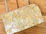 【ネコポスOK】 Quaint Design/クイントデザイン book page デパーチャー map-B