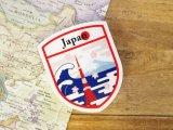 【ネコポスOK】 旅屋オリジナル Country Sticker Japan/日本