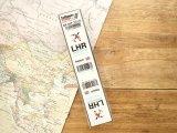 【ネコポスOK】 空港コードステッカー LHR/London Heathrow/ロンドン・ヒースロー空港/England