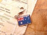 【ネコポスOK】 世界の国旗 チャーム [オーストラリア] 1個