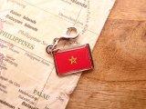 【ネコポスOK】 世界の国旗 チャーム [モロッコ] 1個