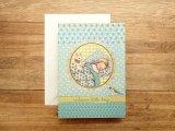 【ネコポスOK】 イギリス ROGER LA BORDE/ロジャーボード グリーティングカード 出産祝い 男の子