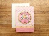 【ネコポスOK】 イギリス ROGER LA BORDE/ロジャーボード グリーティングカード 出産祝い 女の子