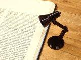 【ネコポスNG】 イギリス The Book Lamp/ブックランプ ブラック