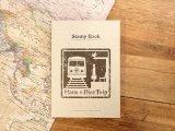 【ネコポスOK】 旅屋オリジナル Stamp Book/スタンプブック 電車