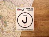 【ネコポスOK】 国際識別記号ステッカー JAPAN/日本