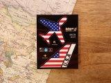 【ネコポスOK】 機体国旗ステッカー AMERICA/アメリカ
