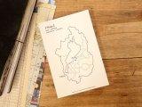 【ネコポスOK】 旅屋オリジナル 白地図ポストカード SHIGA/滋賀