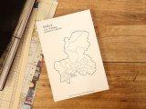 【ネコポスOK】 旅屋オリジナル 白地図ポストカード GIFU/岐阜