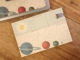 【ネコポスOK】 アメリカ CAVALLINI/カバリーニ Sticky Notes/付箋セット Celestial/天体