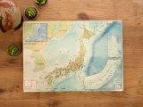 【ネコポスOK】 日本地図の下敷き A4