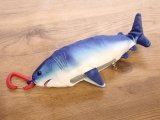 【ネコポスNG】Caps Fish Eco Bag/フィッシュエコバッグ Shark