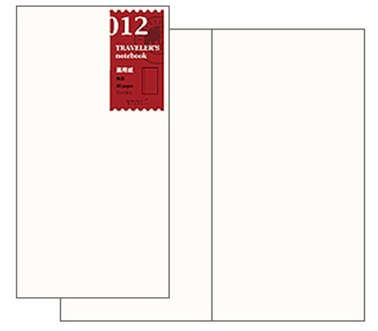 画像3: 【ネコポスOK】 トラベラーズノート リフィル レギュラー [012] 画用紙