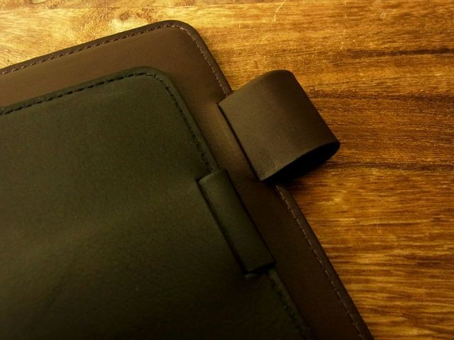 画像4: 【ネコポスOK】 旅屋本革製品 測量野帳用カバー