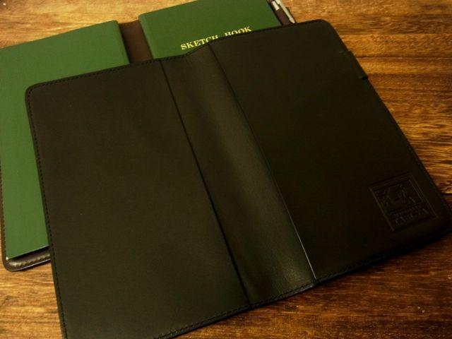 画像3: 【ネコポスOK】 旅屋本革製品 測量野帳用カバー