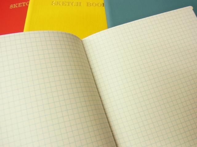 画像4: 【ネコポスOK】 コクヨ リミテッドカラー測量野帳 SKETCH BOOK レッド