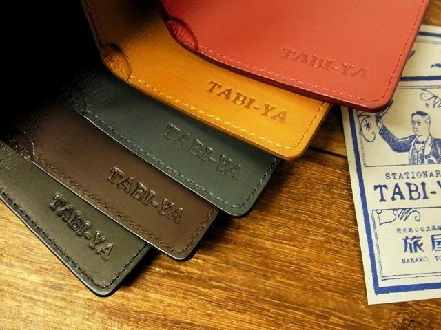 画像2: 【ネコポスOK】 旅屋本革製品 CARD CASE/カードケース
