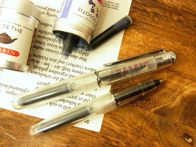 画像2: 【ネコポスOK】 J.HERBIN/エルバン カートリッジインク用ペン