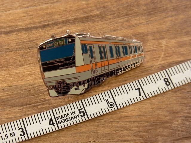 画像3: 【ネコポスOK】 ピンバッジ E233系 中央線