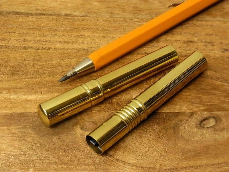 画像1:  【ネコポスOK】 OHTO/オート 真鍮製 2mm芯削り器