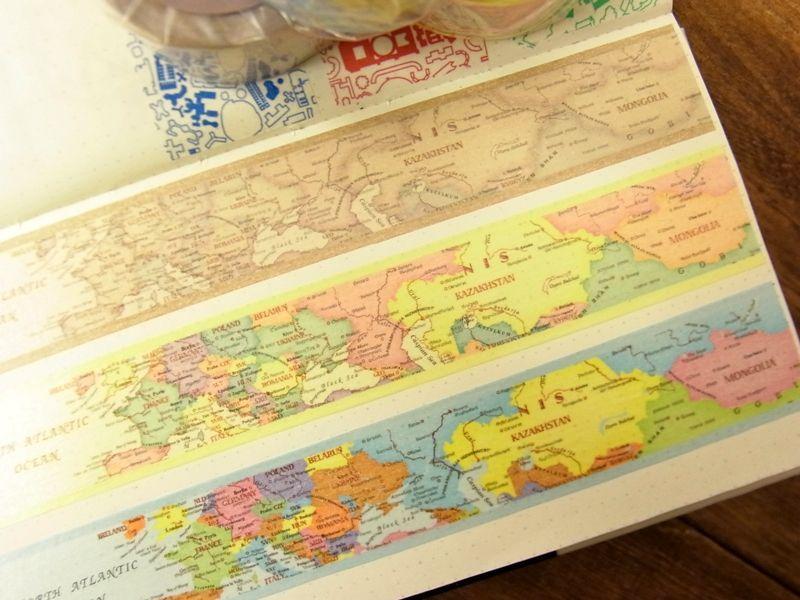 画像2: 【ネコポス△】 東京カートグラフィック マスキングテープ .carto シック