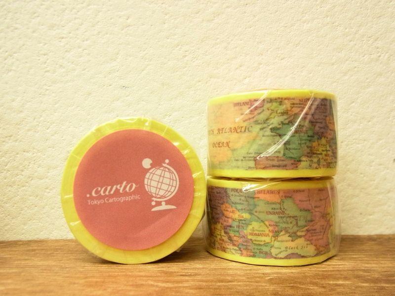 画像1: 【ネコポス△】 東京カートグラフィック マスキングテープ .carto シック