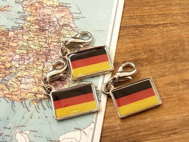 画像4: 【ネコポスOK】 世界の国旗 チャーム [ドイツ] 1個