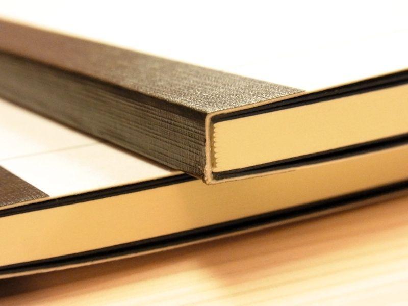 画像5: 【ネコポスOK】 萬年筆紙で作った旅屋オリジナルノート NOTIZBUCH A5 横罫