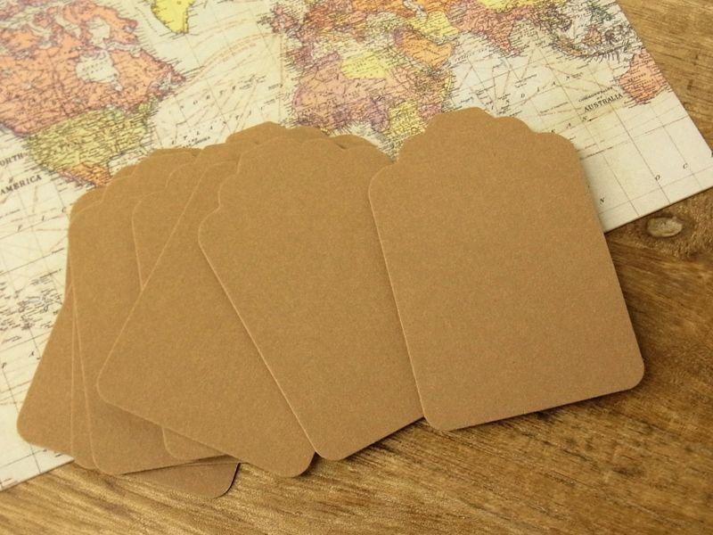 画像1: 【ネコポスOK】 旅屋オリジナル Paper Patch TAG 10枚セット