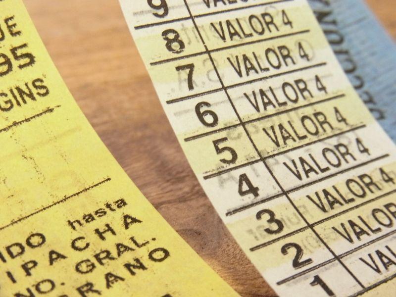 画像3: 【ネコポスOK】 アルゼンチン バスチケット アソート