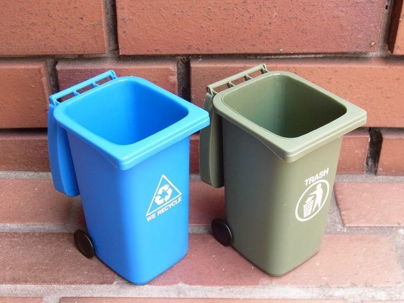 画像2: 【ネコポスNG】 リサイクル ミニボックス ペン立て