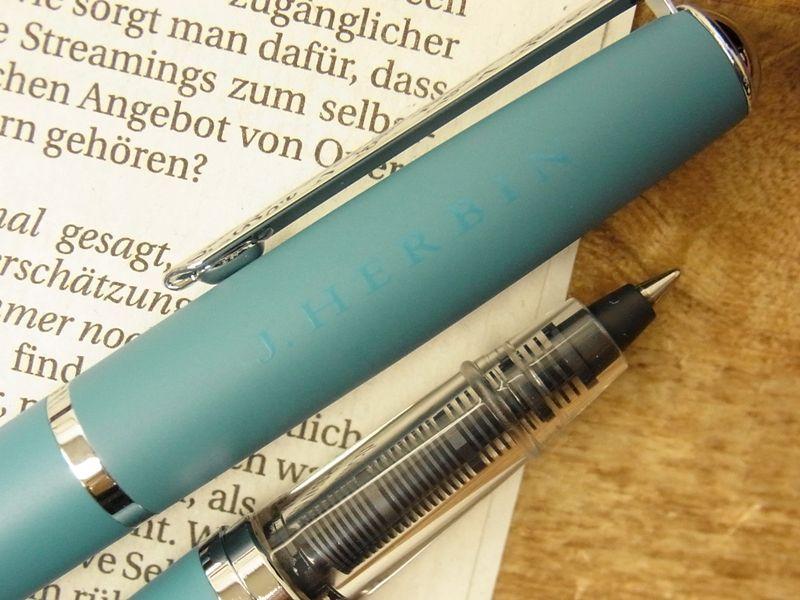 画像3: 【ネコポスOK】 J.HERBIN/エルバン カートリッジインク用ペン ブルー