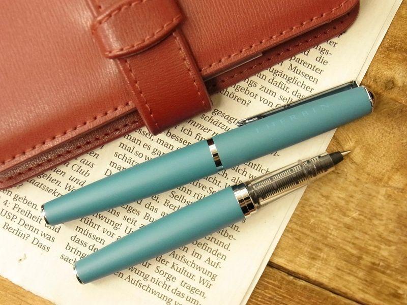 画像2: 【ネコポスOK】 J.HERBIN/エルバン カートリッジインク用ペン ブルー