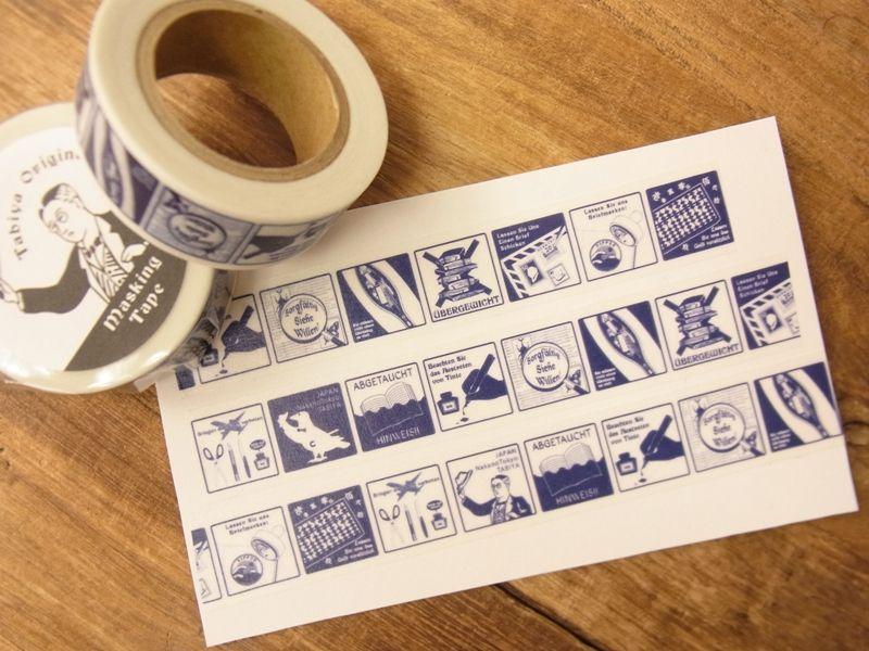 画像2: 【ネコポスOK】 旅屋オリジナル マスキングテープ stationery