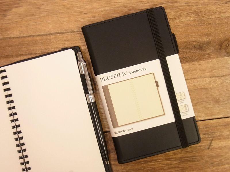 画像1: 【ネコポスOK】 イギリス PLUSFILE/プラスファイル  ニュートン ノートブック