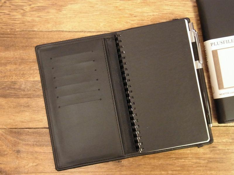 画像4: 【ネコポスOK】 イギリス PLUSFILE/プラスファイル  ニュートン ノートブック