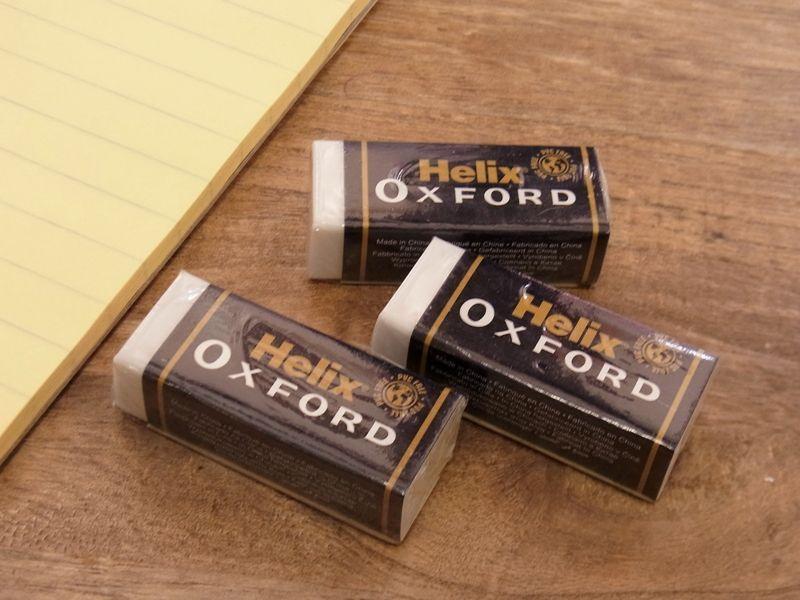画像2: 【ネコポスOK】 イギリス Helix OXFORD 消しゴム(1個)