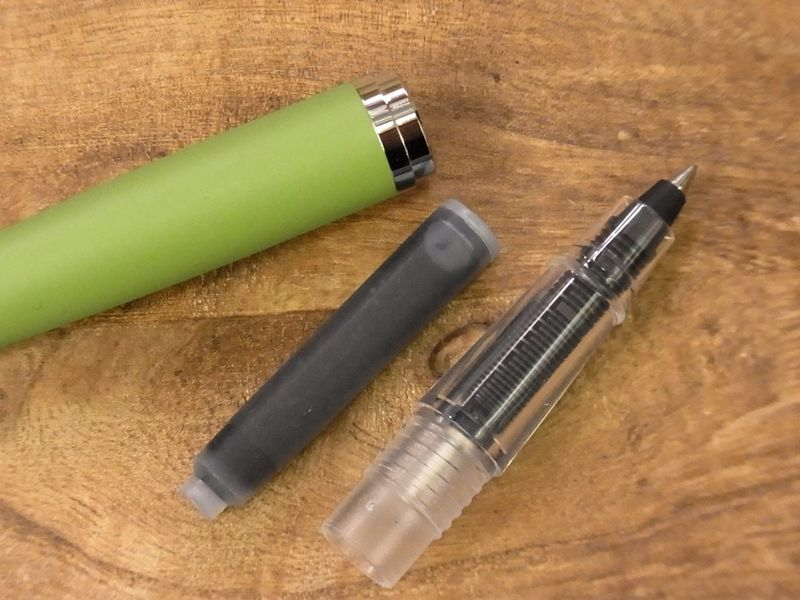 画像4: 【ネコポスOK】 J.HERBIN/エルバン カートリッジインク用ペン ブルー